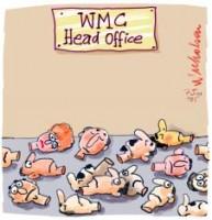 WMC Head Office sackings 226