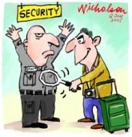 security men tighter checks 226