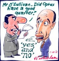 Optus bad quarter yes not 226
