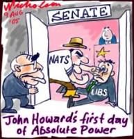 Howard new senate absolute power 226
