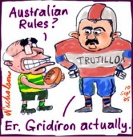 Truijillo Telstra own rules 226