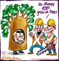 Tasmania forest union Howard money 226