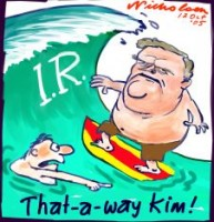 Kim wave of support IR 226
