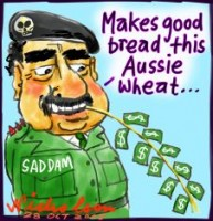 Saddam AWB Aussie wheat UN sanctions 226