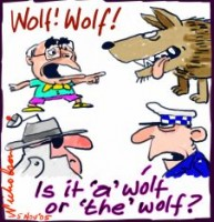 Howard calls wolf terrorism 226