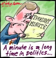 Treasury minute embarrases Costello 226