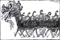 China economic boom Australia 550
