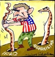 Al-Qa'ida Afghanistan Iraq Bush snake 226int