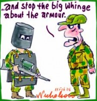 Aussie soldiers poor equipment 226