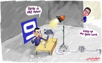Channel 9 News staff cuts 550