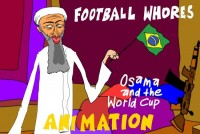 Osama World Cup Football Zarqawi Bush 550