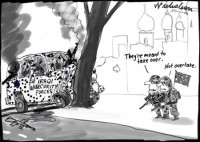 Iraqi security forces shot by Aussies 4506