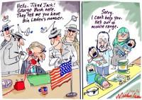 George Bush rings Jihad Jack 550