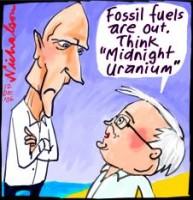 Garrett Rudd clash on uranium wb226