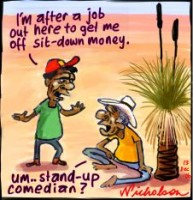 aborigines sit-down money unemployment 226