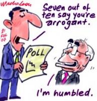 Howard arrogant polls sayl 226