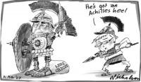 Rudd looks for Howard archilles 550