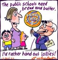 Private v Public education funding 226233