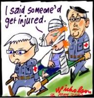Gillard injured in IR clash 226