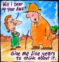 Miners no tear up AWAs 226