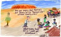 Telstra Second Life Uluru broadband 550