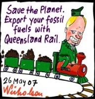 QR Beattie holds up coal exports 226