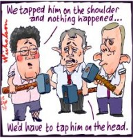 Ministers tap Howard on the shoulder 226