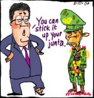 Downer no to Burma diplomat 226