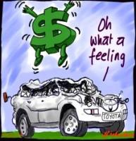 rising dollar crushed Toyota 226