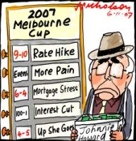 Melbourne Cup interest rate hike 226