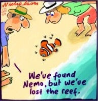 Global warming to wreck Great Barrier Reef 226