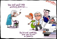 Cuts to carers, oldies 550
