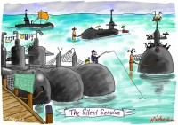 shortage of submariners grounds subs 550