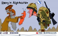 Harry in Afghanistan 550