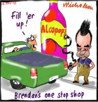 alcopops bowser excise petrol Nelson 226233