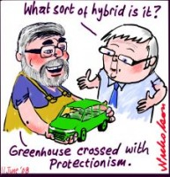 SubsidyToyota hybrid cars Rudd Carr 226