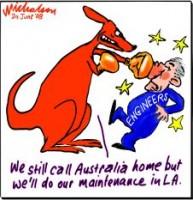 Qantas dispute with Maintenance Engineers 226233