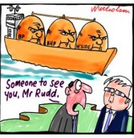 LNG lobby calls on Rudd 226