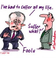 Turnbull has had to suffer 226