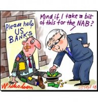 Rudd in US may scrounge Fed dough 226