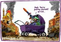 Hamas firing rockets in Gaza 600