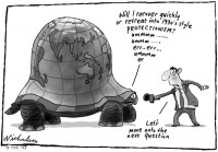 slowing world protectionism tortoise 600
