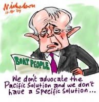 Turnbull oppostion policy on boat people 226