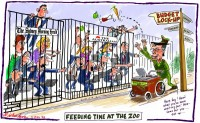 Budget lockup anachronism feed animals 600