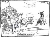 Godwin Grech Pied Piper Malcolm Turnbull 600