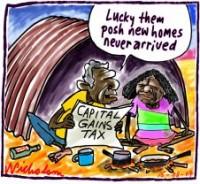 Capital Gains Tax posh homes 226