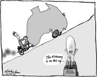 Glen Stevens says economy on mend 600