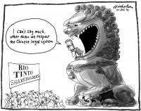 Rio Tinto report Stern Hu China 600