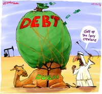 Dubai weighed down by debt 600