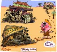 Barnaby Joyce Barney Rubble China banks 600